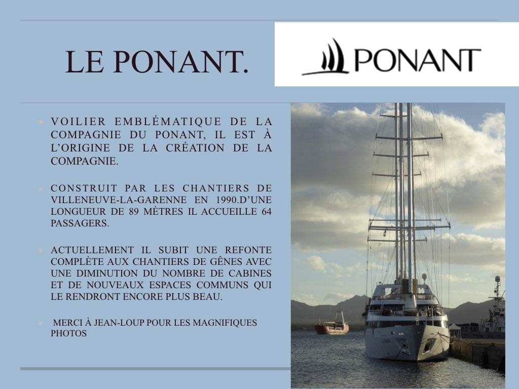 PAQUEBOT ACTUEL LE VOILIER PONANT..001