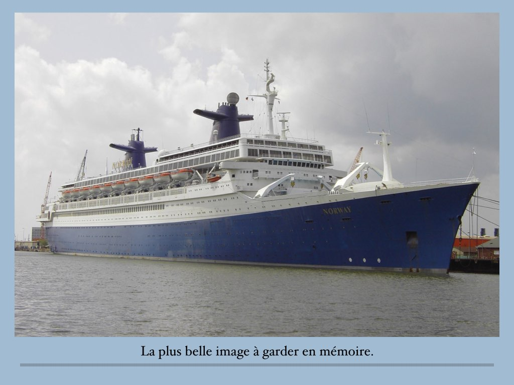 REPORTAGE SS NORWAY ALANG.046