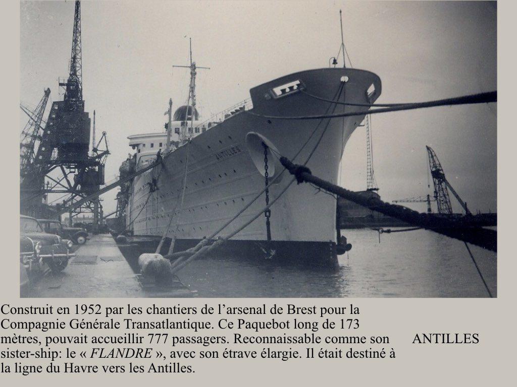 PAQUEBOT DE LEGENDE ANTILLES-2.001
