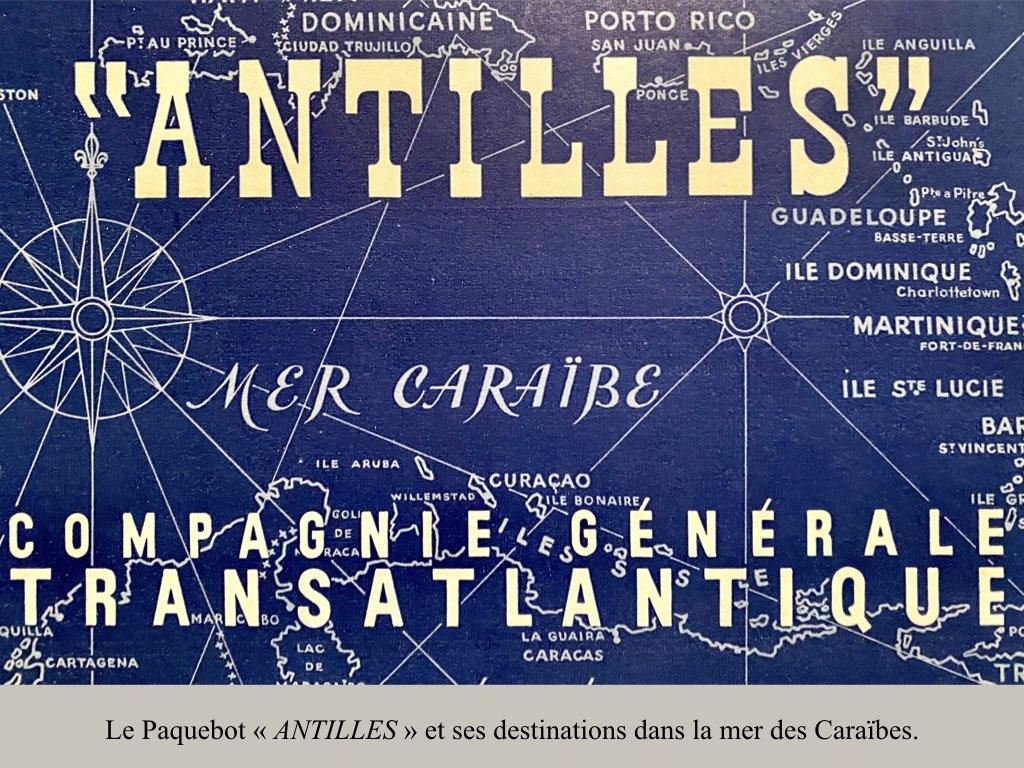 PAQUEBOT DE LEGENDE ANTILLES-2.002