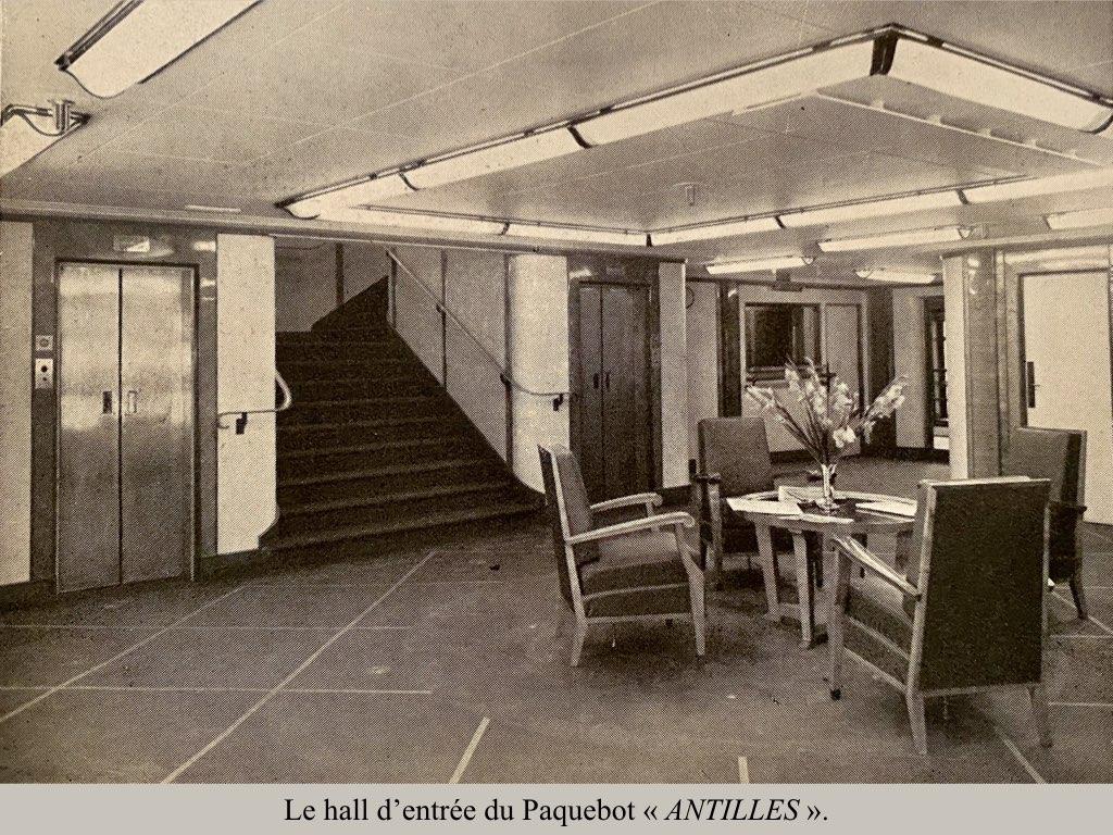 PAQUEBOT DE LEGENDE ANTILLES-2.007