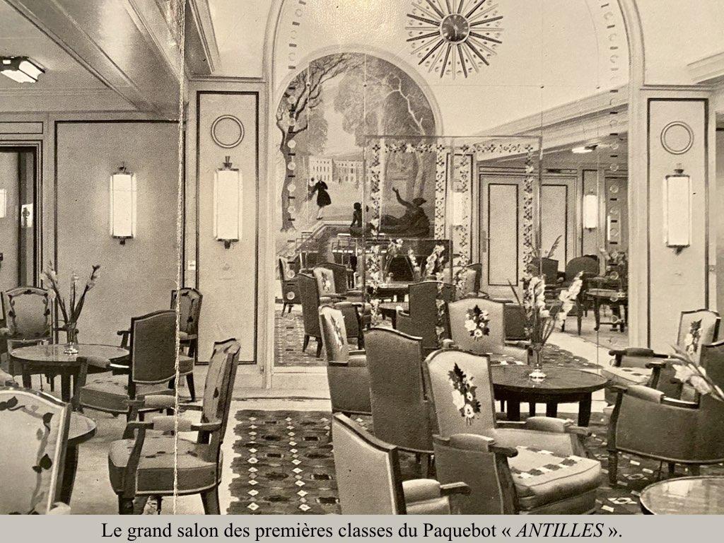 PAQUEBOT DE LEGENDE ANTILLES-2.009