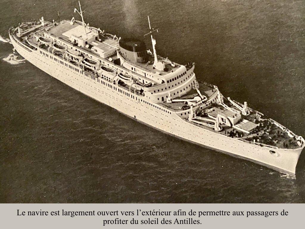 PAQUEBOT DE LEGENDE ANTILLES-2.013