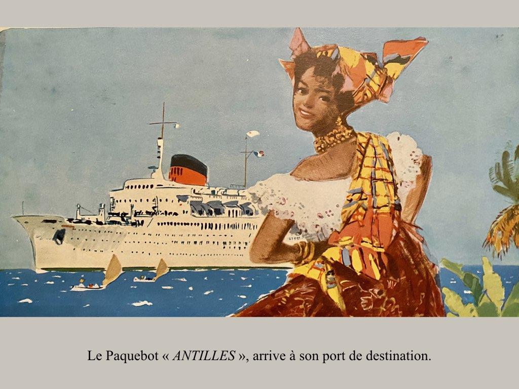 PAQUEBOT DE LEGENDE ANTILLES-2.016