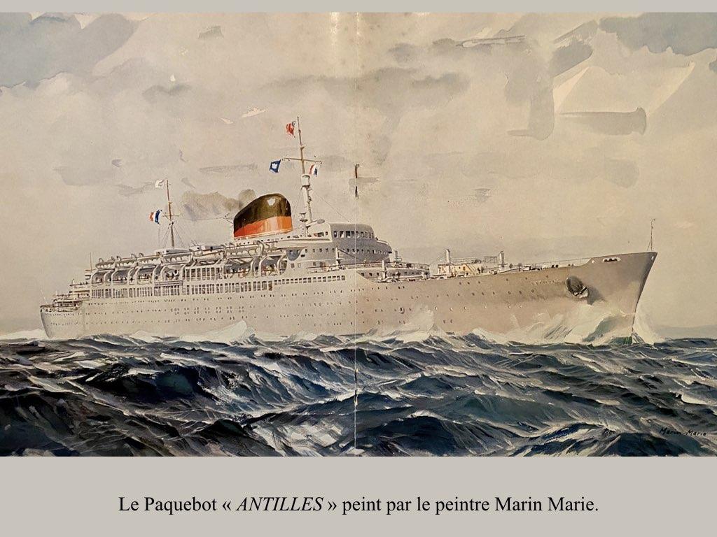 PAQUEBOT DE LEGENDE ANTILLES-2.020