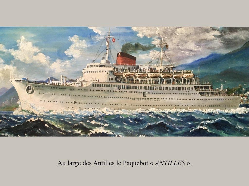 PAQUEBOT DE LEGENDE ANTILLES-2.027