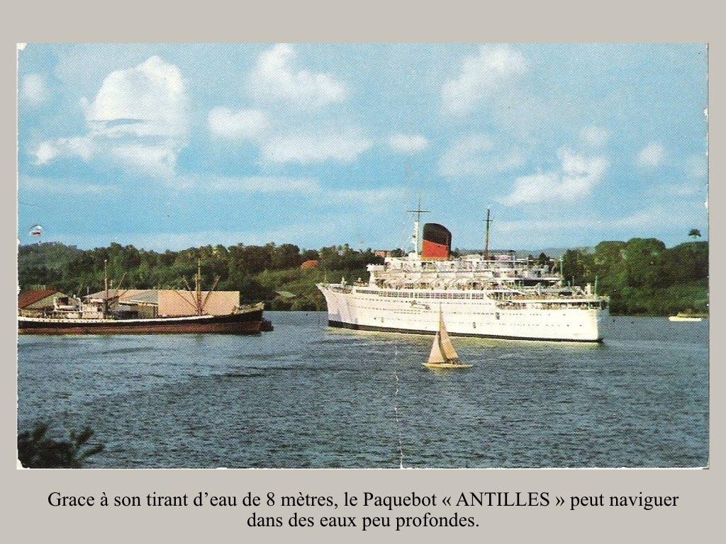 PAQUEBOT DE LEGENDE ANTILLES-2.035