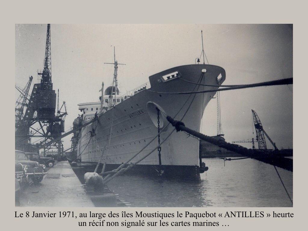PAQUEBOT DE LEGENDE ANTILLES-2.036