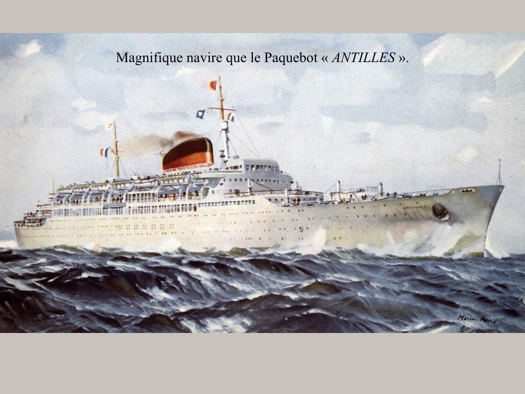 PAQUEBOT DE LEGENDE ANTILLES-2.040