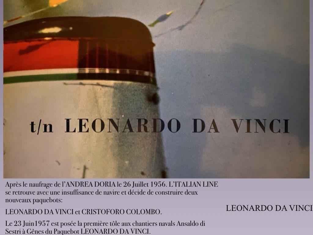 PAQUEBOT DE LEGENDE LEONARDO DA VINCI.001