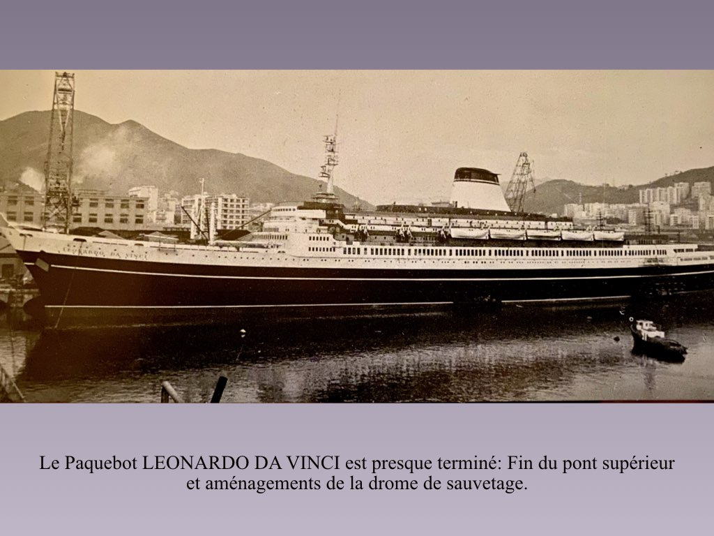 PAQUEBOT DE LEGENDE LEONARDO DA VINCI.009