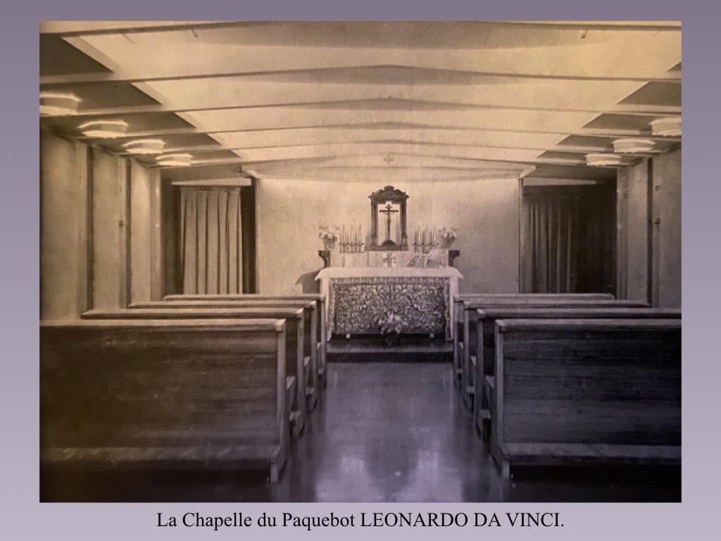 PAQUEBOT DE LEGENDE LEONARDO DA VINCI.030