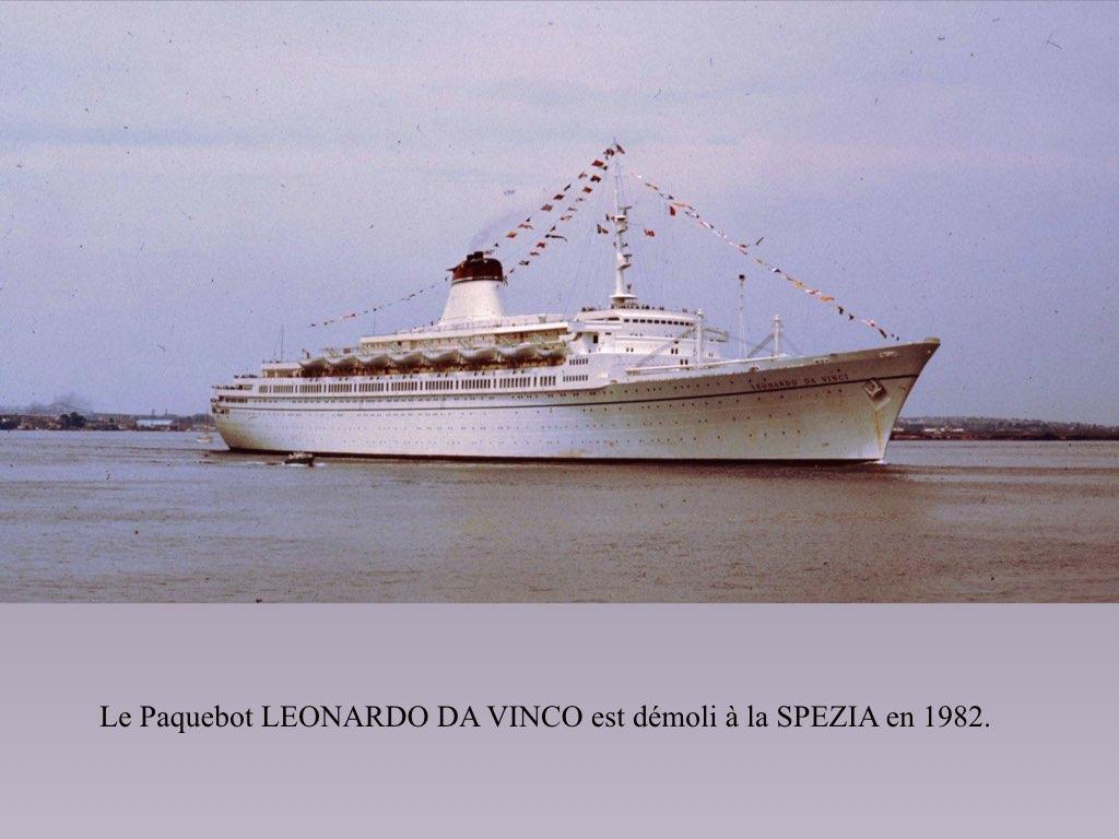 PAQUEBOT DE LEGENDE LEONARDO DA VINCI.032