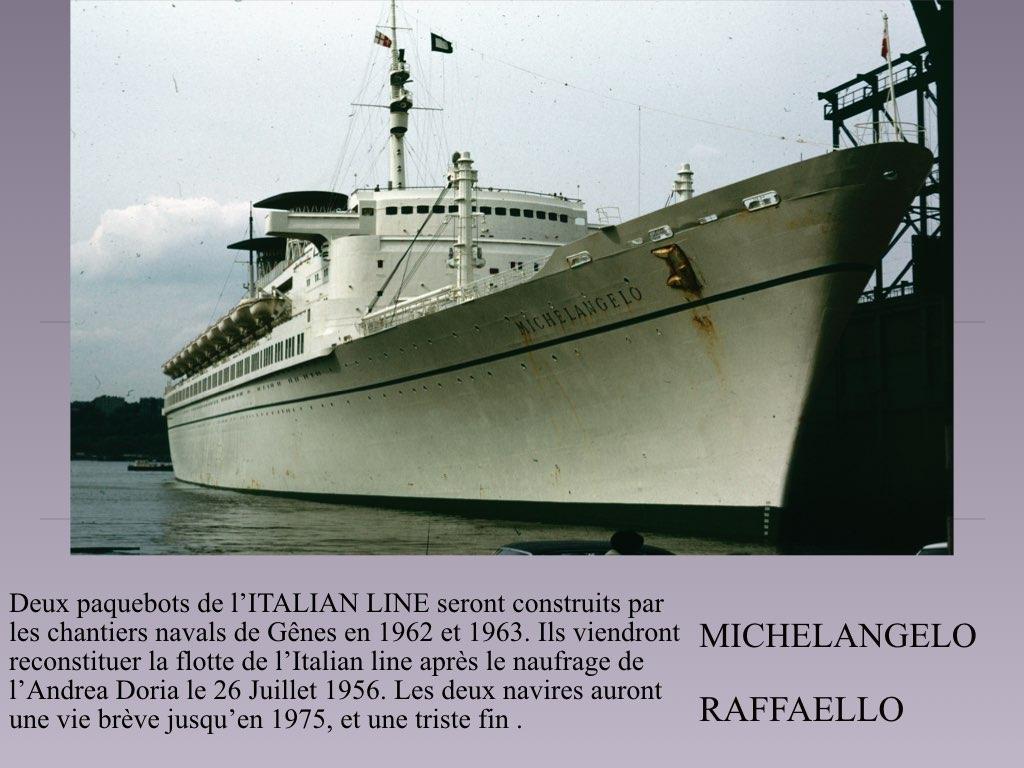 PAQUEBOT DE LEGENDE MICHELANGELO ET RAFFAELLO.001