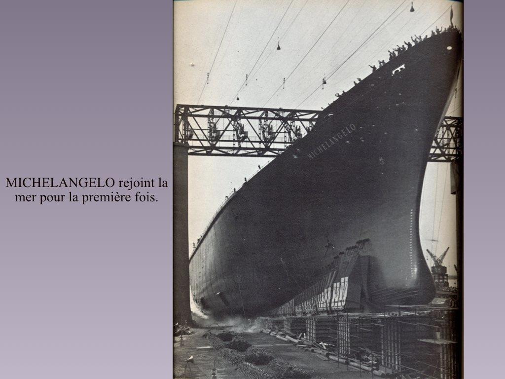 PAQUEBOT DE LEGENDE MICHELANGELO ET RAFFAELLO.011
