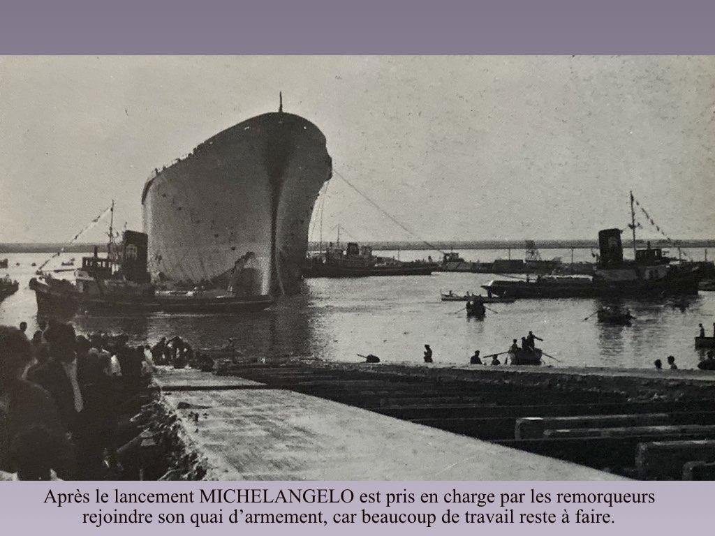 PAQUEBOT DE LEGENDE MICHELANGELO ET RAFFAELLO.013
