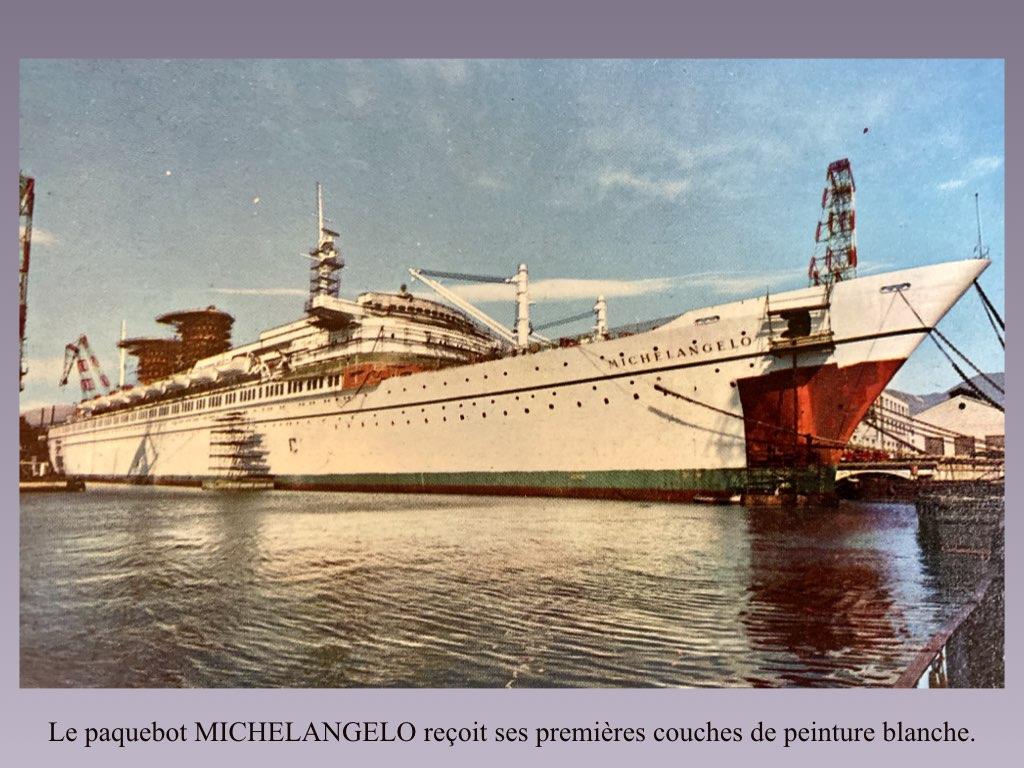 PAQUEBOT DE LEGENDE MICHELANGELO ET RAFFAELLO.021