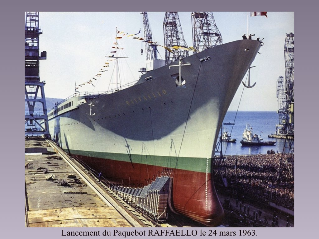 PAQUEBOT DE LEGENDE MICHELANGELO ET RAFFAELLO.023