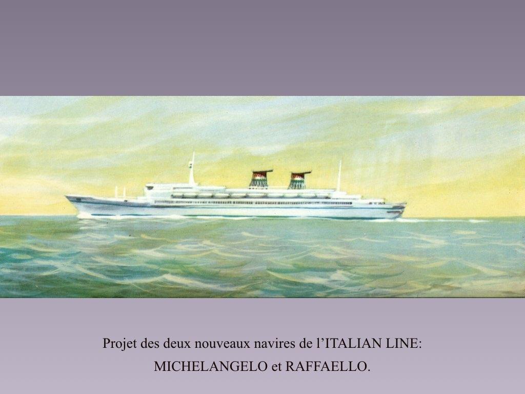 PAQUEBOT DE LEGENDE MICHELANGELO ET RAFFAELLO.024