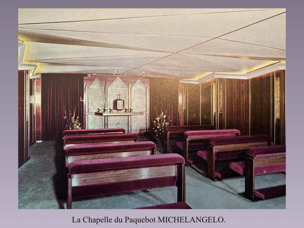 PAQUEBOT DE LEGENDE MICHELANGELO ET RAFFAELLO.041