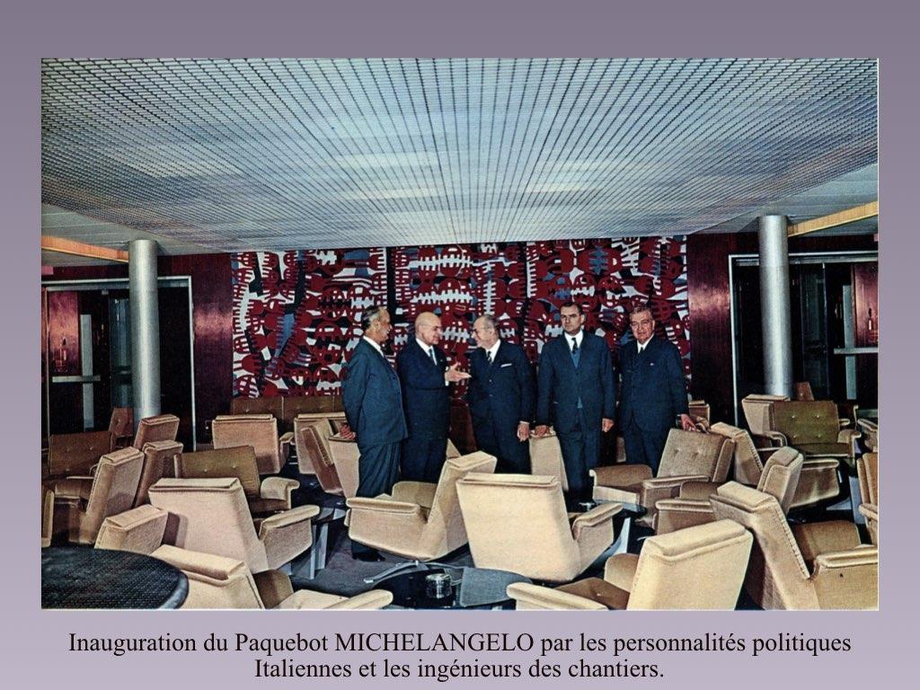 PAQUEBOT DE LEGENDE MICHELANGELO ET RAFFAELLO.067