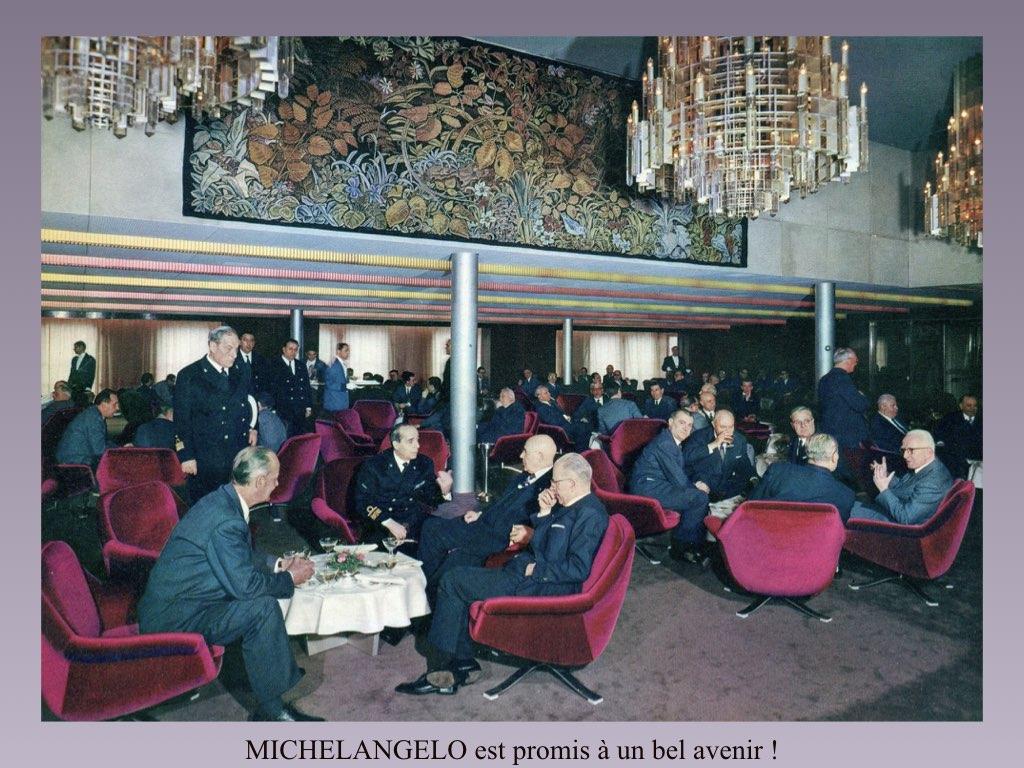 PAQUEBOT DE LEGENDE MICHELANGELO ET RAFFAELLO.068
