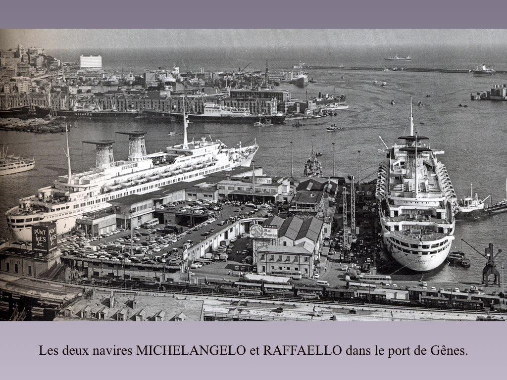 PAQUEBOT DE LEGENDE MICHELANGELO ET RAFFAELLO.076