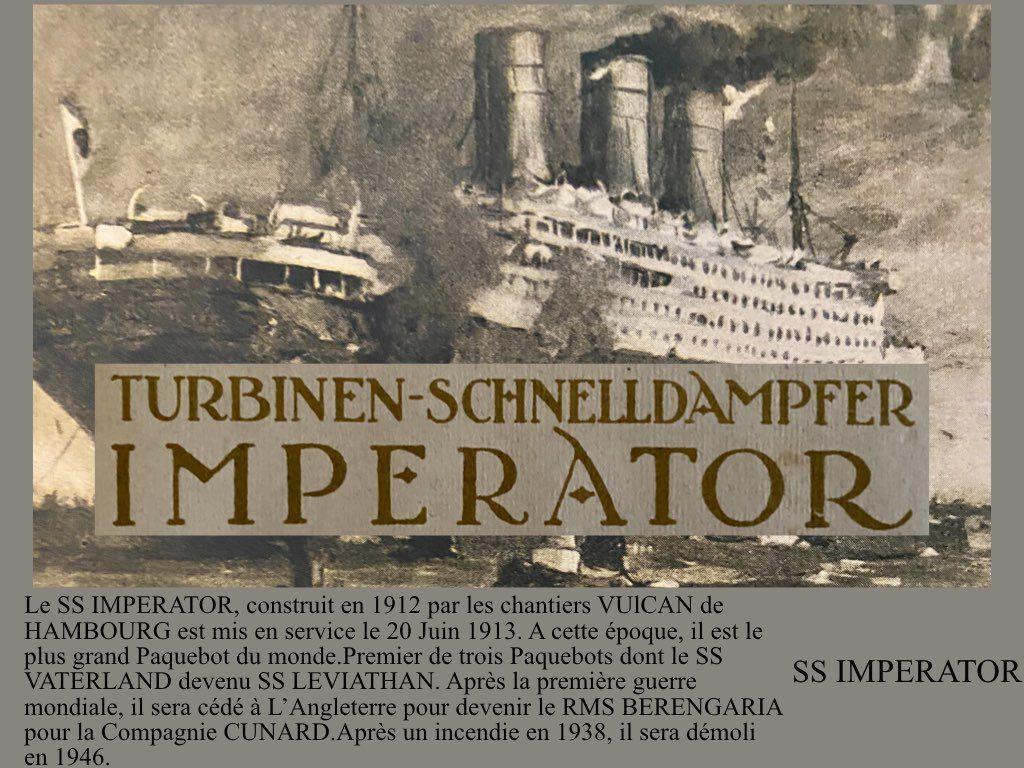 PAQUEBOT DE LEGENDE SS IMPERATOR.001