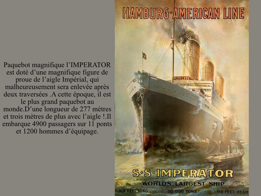 PAQUEBOT DE LEGENDE SS IMPERATOR.002