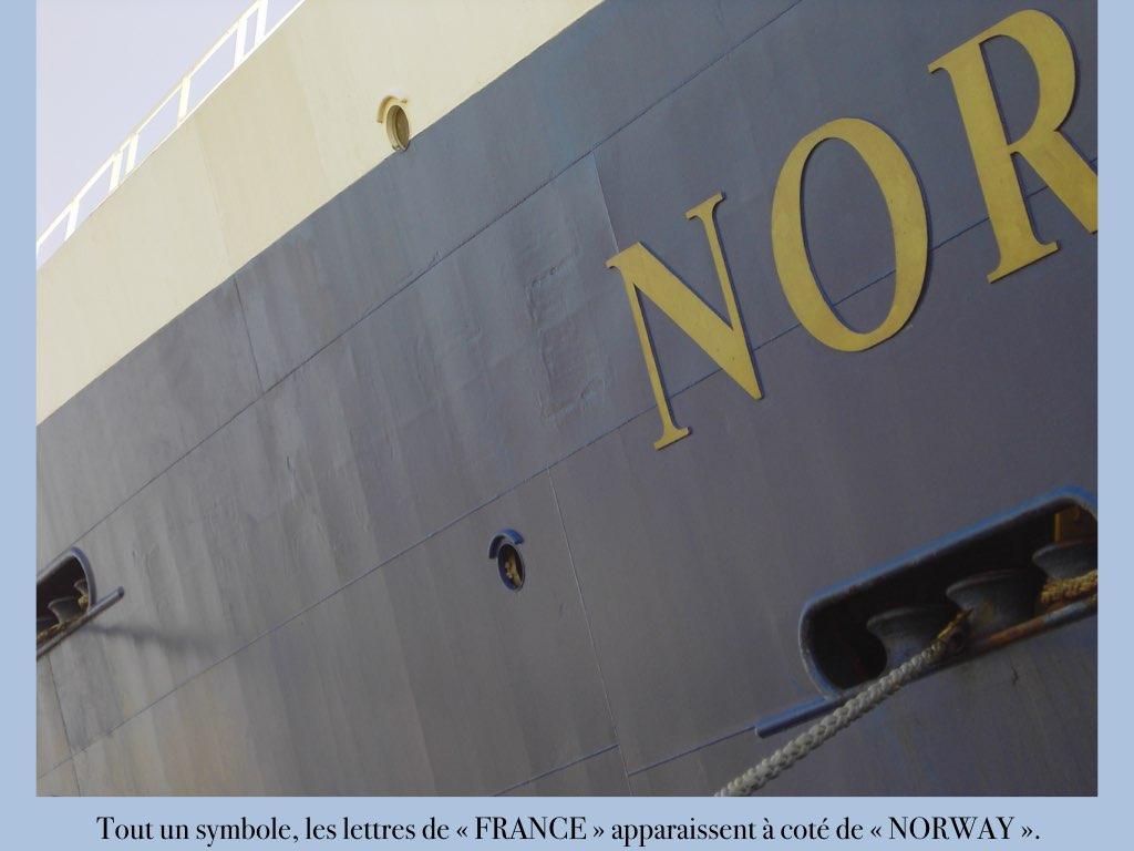 REPORTAGE-25 MAI 2005-DERNIER DÉPART DU SS NORWAY BREMERHAVEN..003