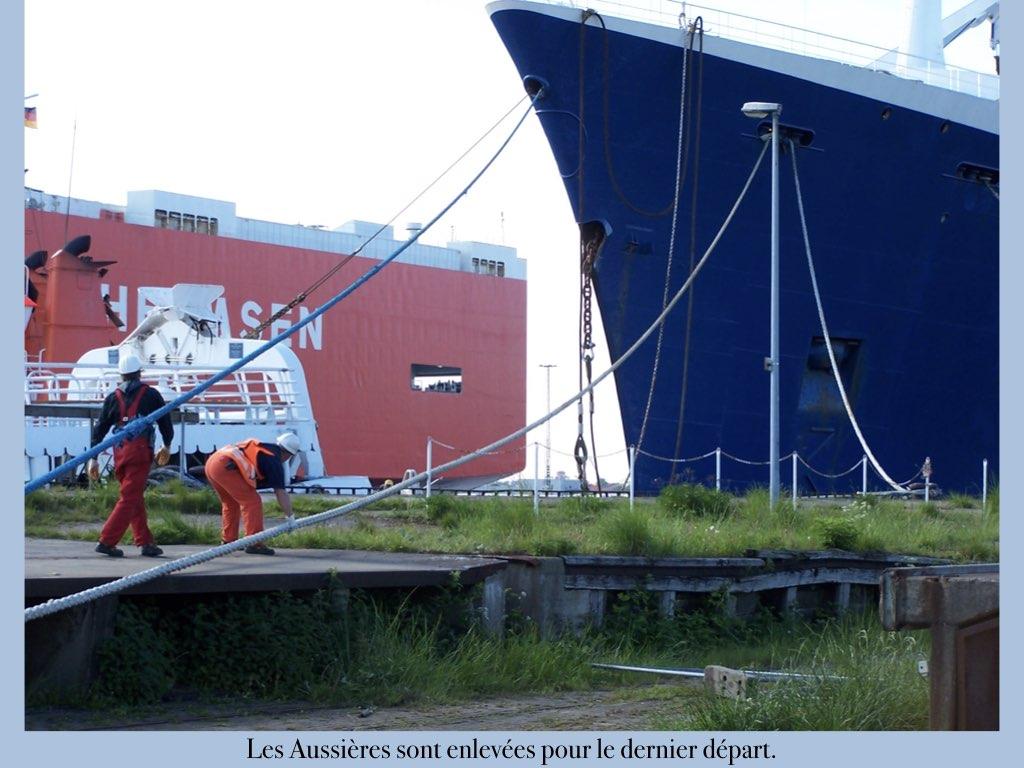 REPORTAGE-25 MAI 2005-DERNIER DÉPART DU SS NORWAY BREMERHAVEN..020