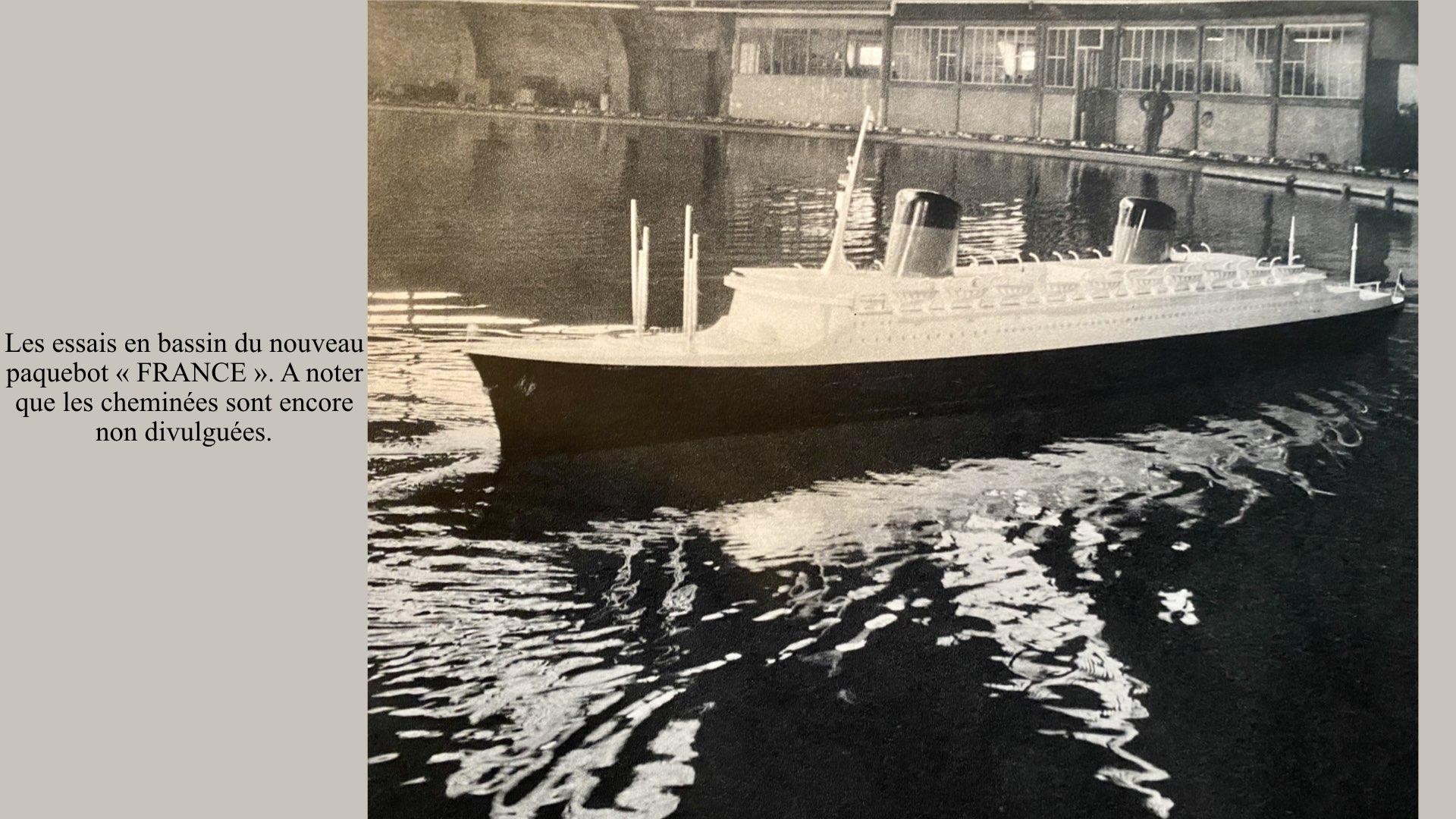 PAQUEBOT DE LÉGENDE-CONSTRUCTION DU SS FRANCE..002