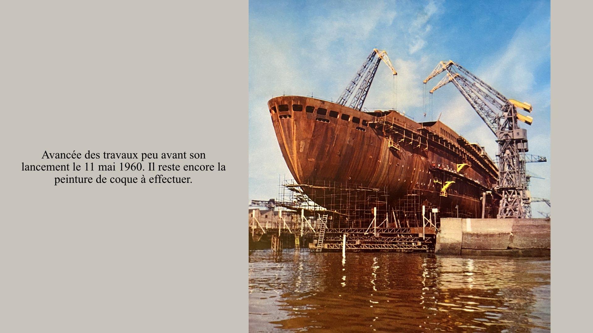 PAQUEBOT DE LÉGENDE-CONSTRUCTION DU SS FRANCE..009