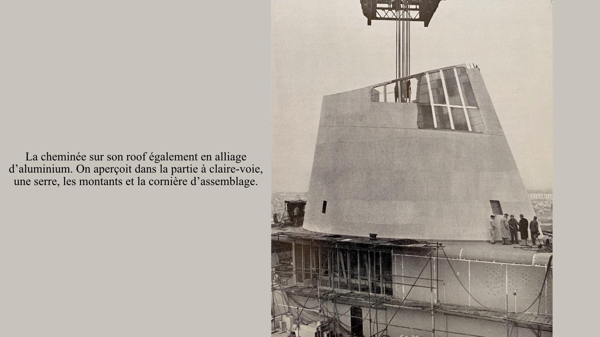 PAQUEBOT DE LÉGENDE-CONSTRUCTION DU SS FRANCE..011