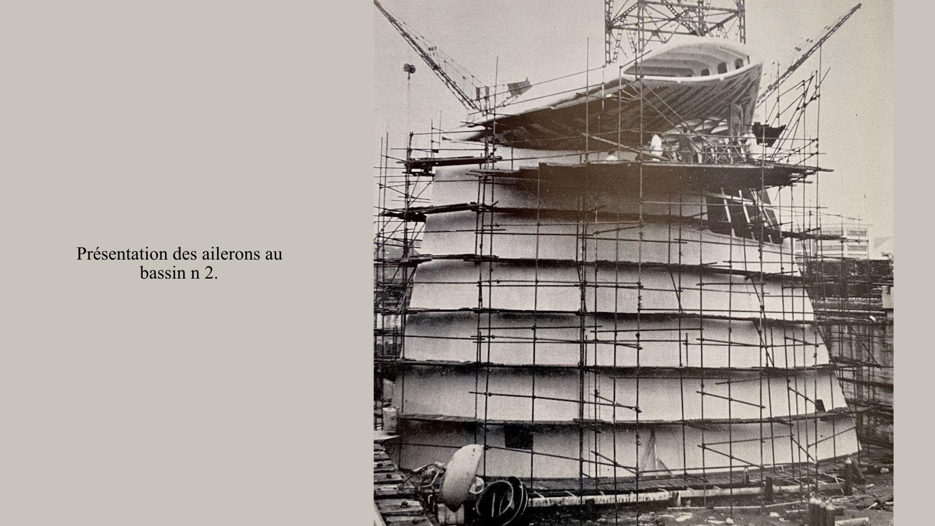 PAQUEBOT DE LÉGENDE-CONSTRUCTION DU SS FRANCE..013