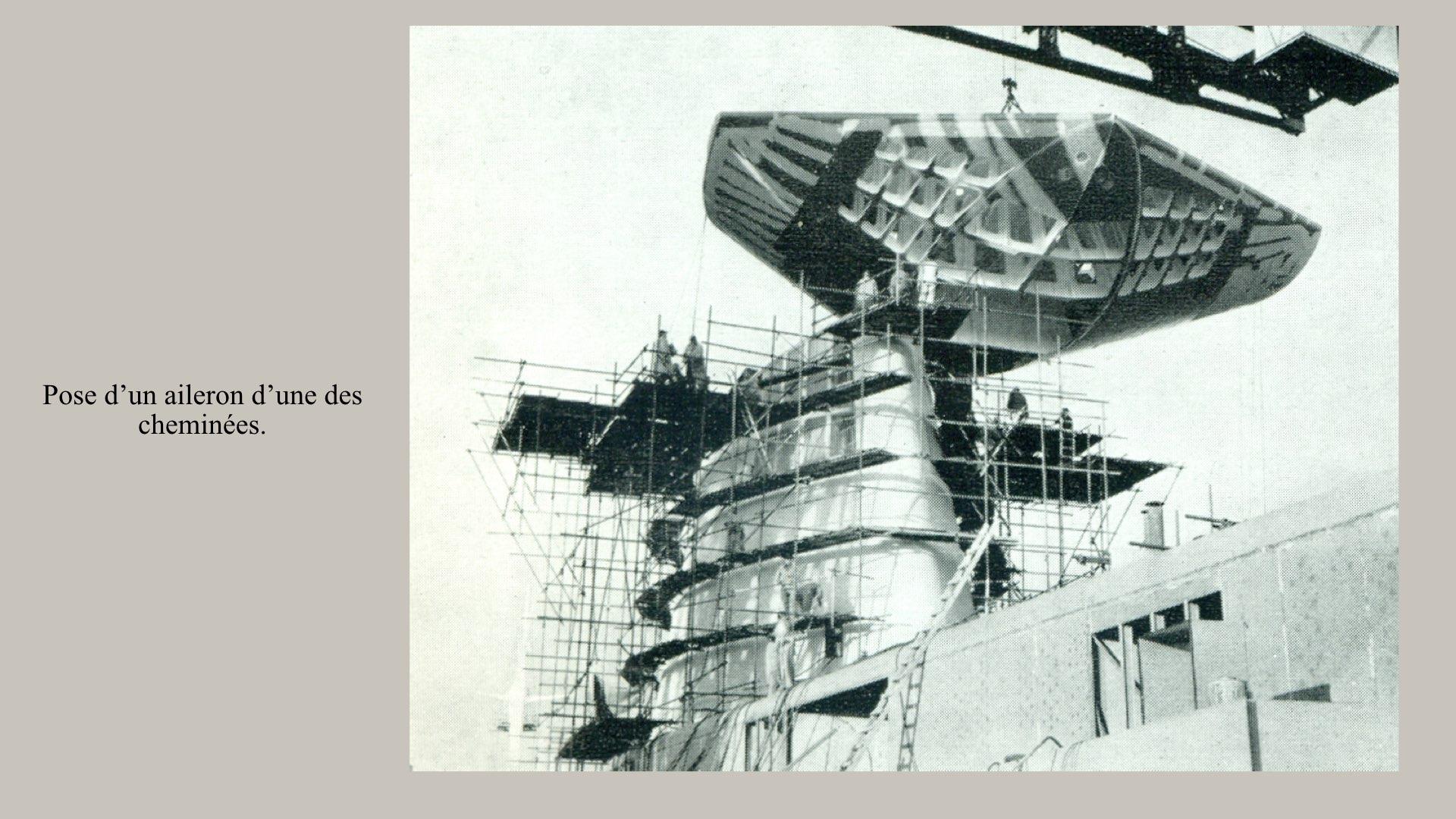 PAQUEBOT DE LÉGENDE-CONSTRUCTION DU SS FRANCE..014