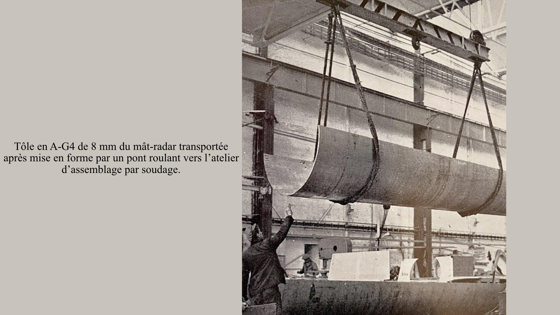 PAQUEBOT DE LÉGENDE-CONSTRUCTION DU SS FRANCE..015