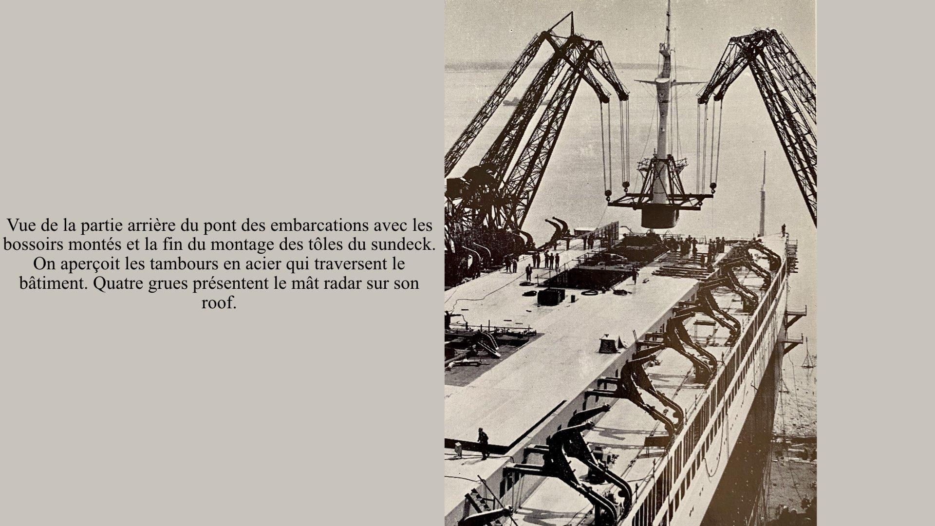 PAQUEBOT DE LÉGENDE-CONSTRUCTION DU SS FRANCE..017