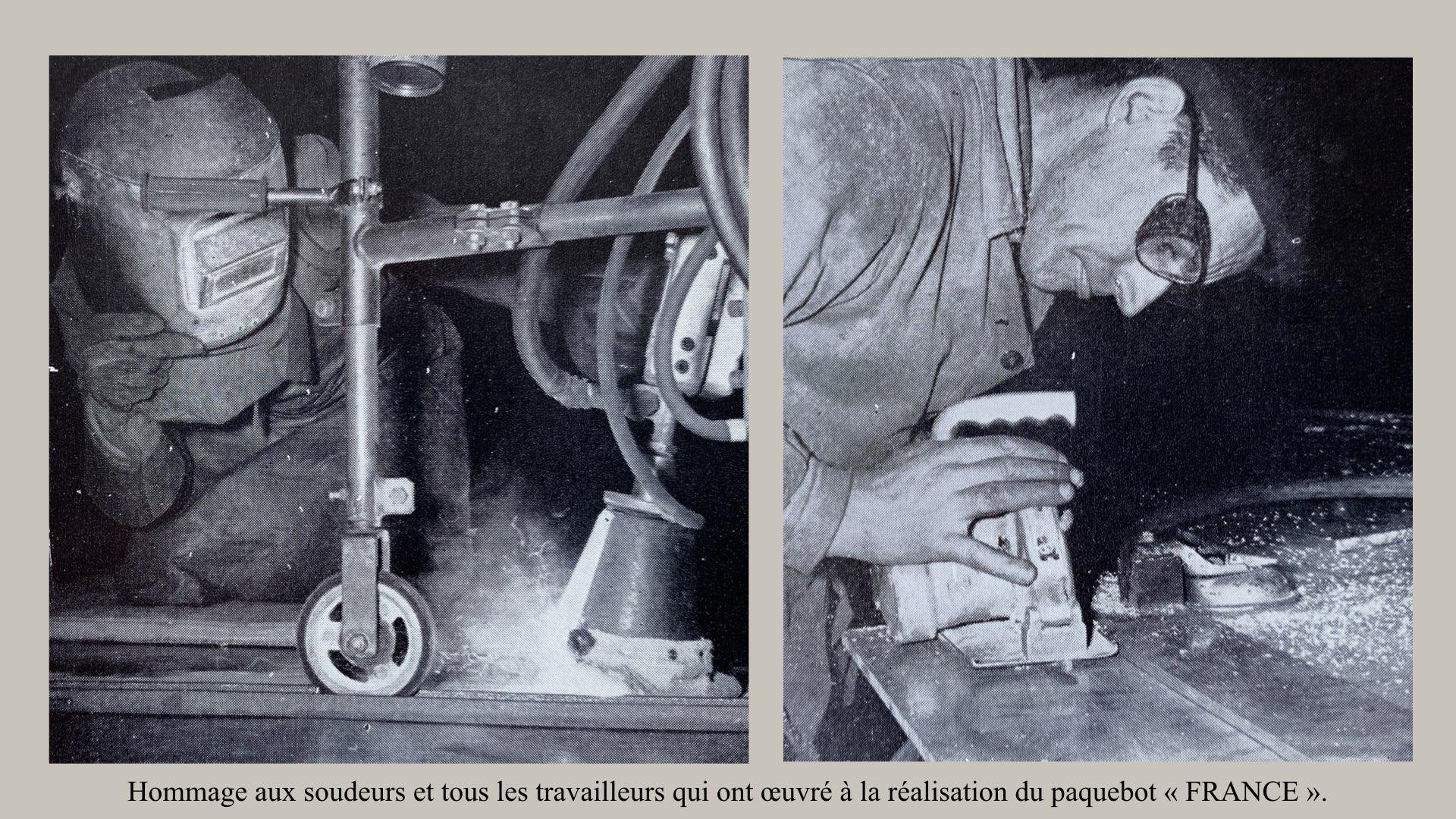 PAQUEBOT DE LÉGENDE-CONSTRUCTION DU SS FRANCE..022