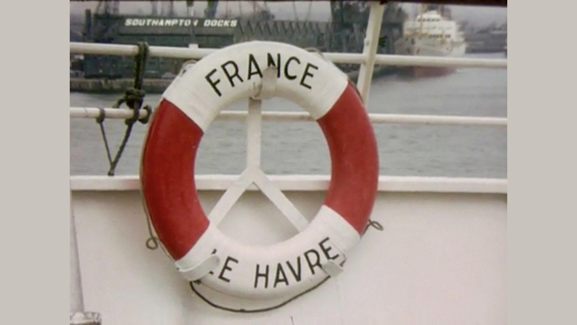 PAQUEBOT DE LÉGENDE-CONSTRUCTION DU SS FRANCE..028