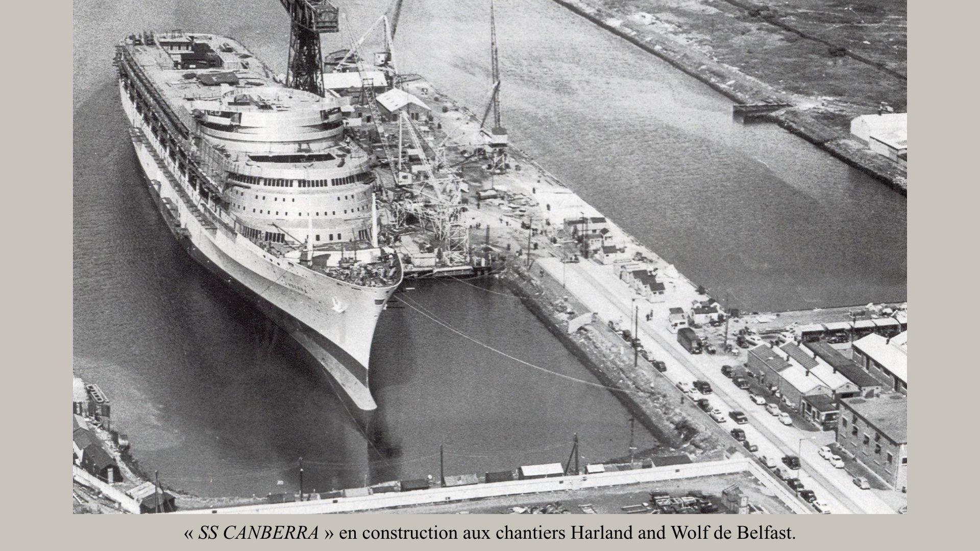 PAQUEBOT DE LÉGENDE- SS CANBERRA..002