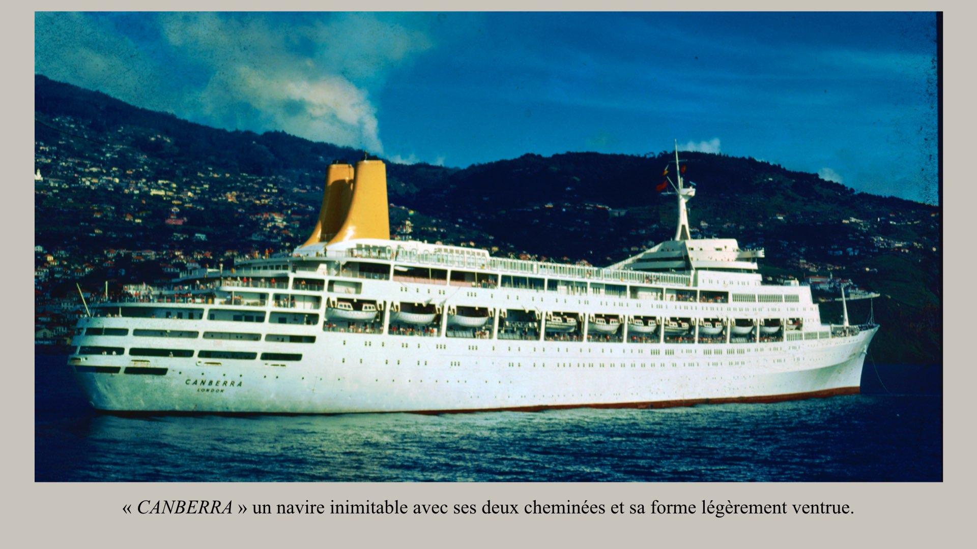 PAQUEBOT DE LÉGENDE- SS CANBERRA..010