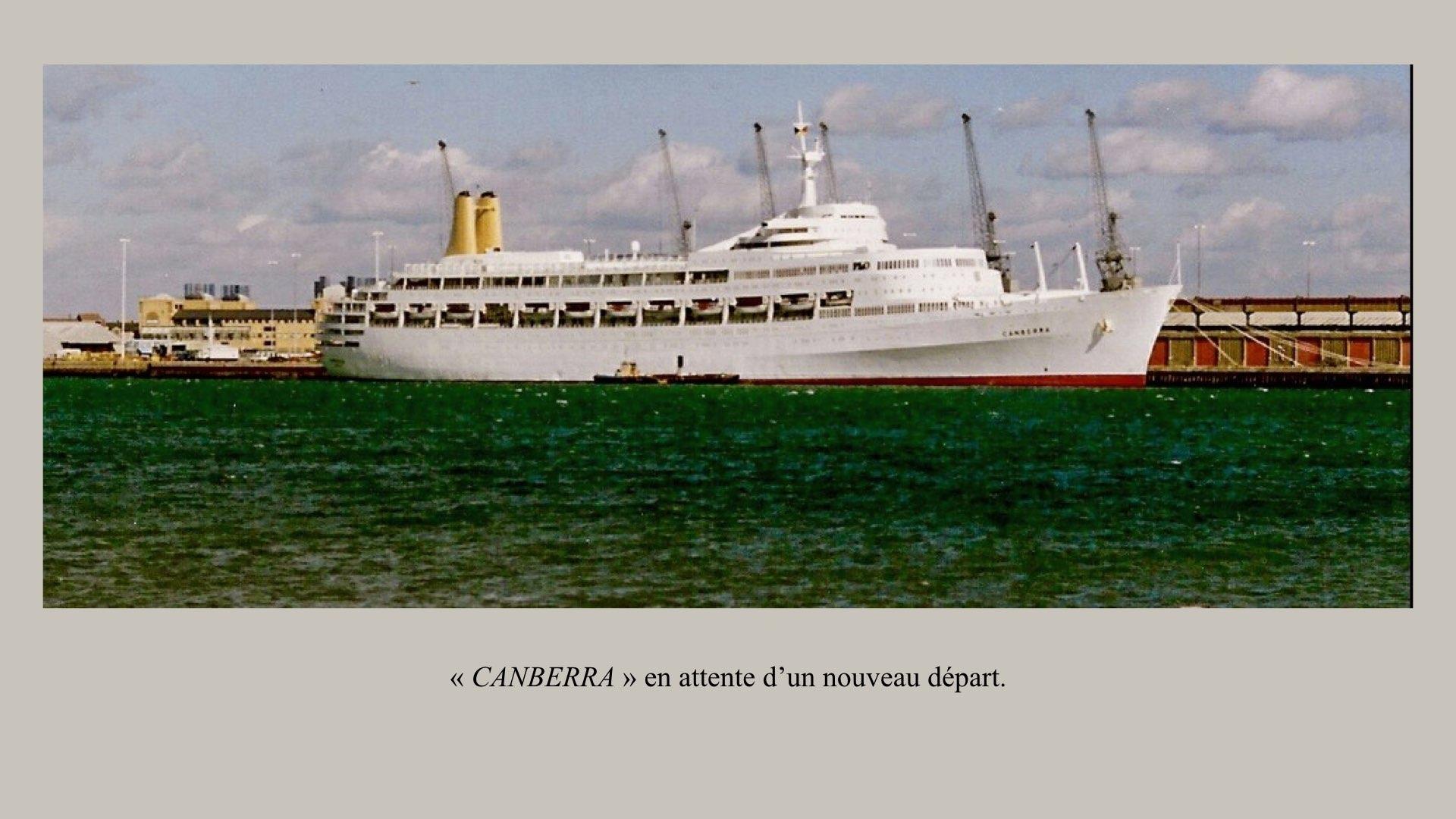 PAQUEBOT DE LÉGENDE- SS CANBERRA..012