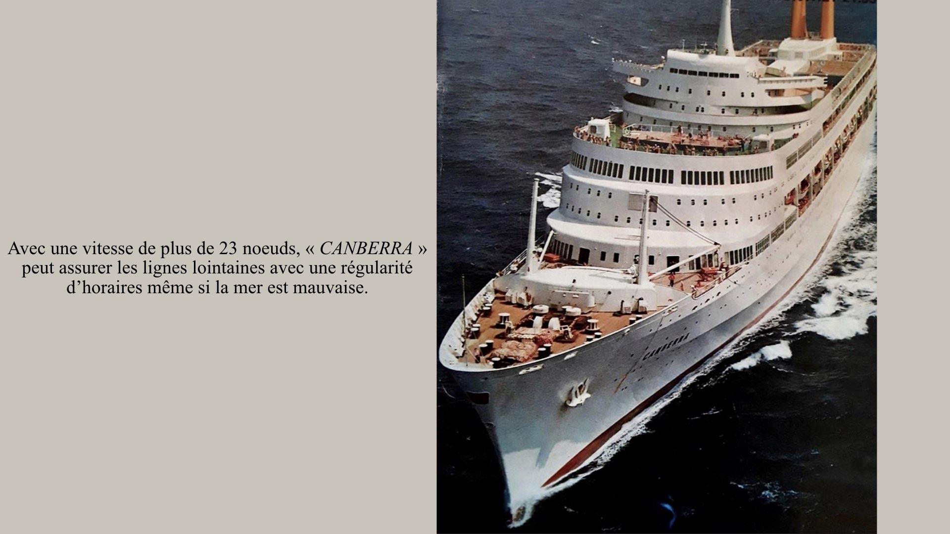 PAQUEBOT DE LÉGENDE- SS CANBERRA..014