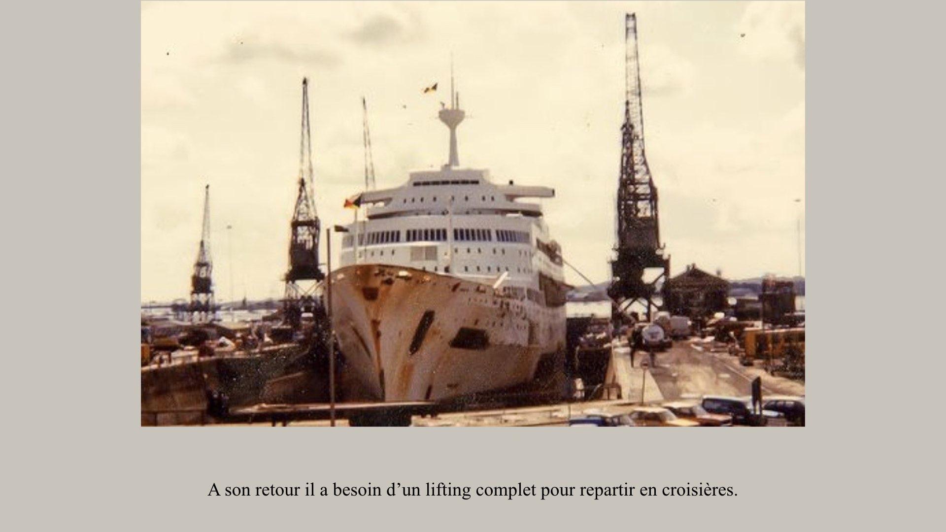 PAQUEBOT DE LÉGENDE- SS CANBERRA..022