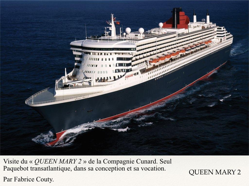 REPORTAGE- A BORD DU QUEEN MARY 2 DERNIER OCEAN LINER..001