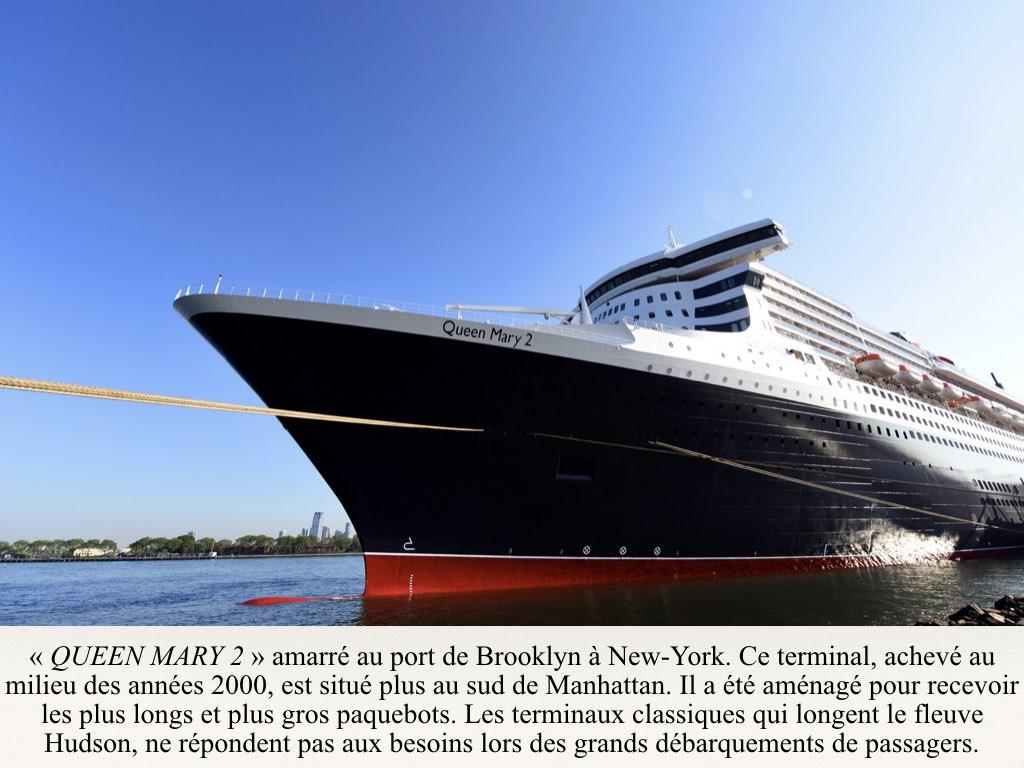 REPORTAGE- A BORD DU QUEEN MARY 2 DERNIER OCEAN LINER..013