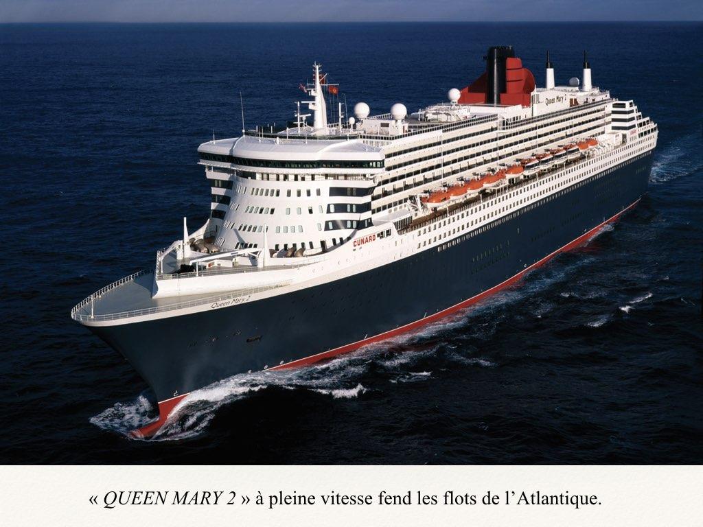 REPORTAGE- A BORD DU QUEEN MARY 2 DERNIER OCEAN LINER..016