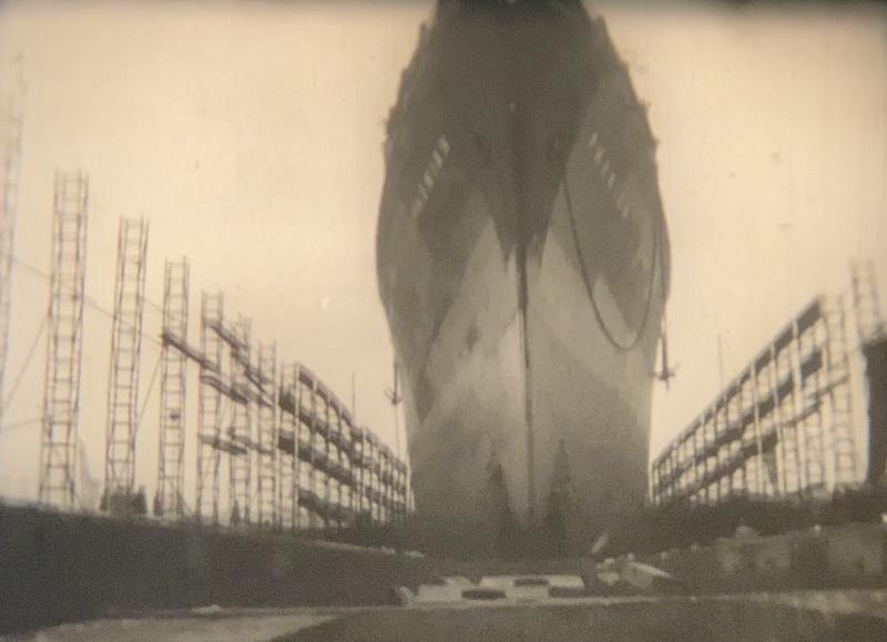 A SHIP IS BORN (FILM POLONAIS).